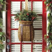 Ballard Designs Christmas Wreaths Adirondack Hanging Basket In 2019 Adirondack Decor