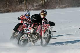 supermotard motorcycle ice racing szoke style blogpost
