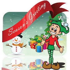 Free Christmas Clipart Words