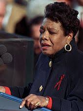 list of a angelou works  angelou reciting on the pulse of morning at bill clinton s presidential inauguration in 1993
