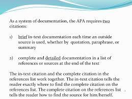 Apa Documentation Dr Q Nichols Ppt Download