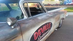 1959 Chevy El Camino Custom Rat Rod by Deville Skateboards - YouTube