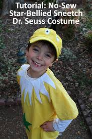 tutorial how to make a star bellied sneetch dr seuss costume