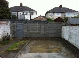 garden wall ideas dublin. demolition \u0026 removal of garage and old boundary wall, build new back garden wall ideas dublin i