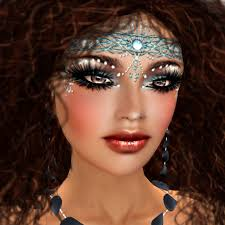 beautifully deled and richly exotic makeup in 2 dramatic designs from ccd with hints of eastern