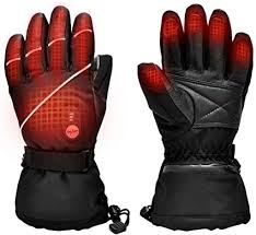 Upgraded Heated Gloves,7.4V 2200MAH Electric <b>Rechargeable</b> ...