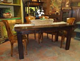 best rustic wood dining room table warm and rustic dining room ideas furniture home