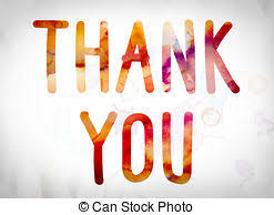 Word Thank You Thank You Concept Colorful Word Art Illustration The Words Thank
