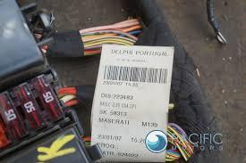 trunk rear body wire harness fusebox 223843 maserati trunk rear body wire harness fusebox 223843 maserati quattroporte 06 11