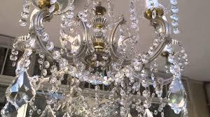 maria theresa swarovski crystal chandelier