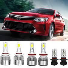 2014 Camry Light Bulb Size Details About Car Led Lights For Toyota Camry 07 2014 9005 Led Headlight Fog Light Bulbs Kit