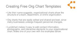 Library Org Chart Free Organization Chart Template Library