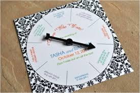creative ideas to make your own wedding invitations Wedding Cards Creative Ideas spinning wheel invitation 30 creative ideas to make your own wedding invitations wedding invitations unique ideas