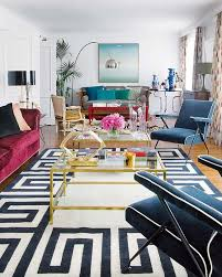 on fridays we wear pink and navy blue white swoon worthy living room gold decor