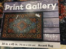 costco 1226575 maples print gallery accent rug