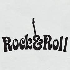 Rock And Roll Quotes Inspiration ROCK'N'ROLL Wall Art Sticker Bedroom Living Room Rock N Roll
