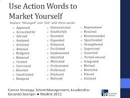 Action Words For Resume Top Power Words Resume Action Action Words ...