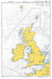 Sea Charts Scotland Admiralty Chart 2 British Isles