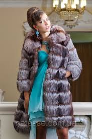 fur coat a short fur coat a vest from the gilded silver fox of natali