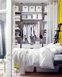 ideas for the open closet in the room how to hide