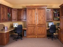 wall bed office. Traditional Alder Office With Wall Bed Up Wall Bed Office