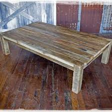 Superior Solid Barn Wood Coffee Table Images