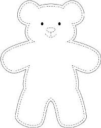 Teddy Bear Sewing Pattern Mesmerizing Sample Teddy Bear Template WikiHow DIY Projects Pinte