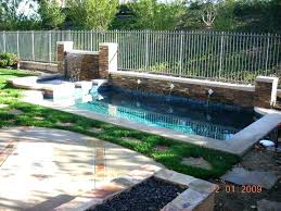 Backyard Pool Designs Enchanting Backyard Swimming Pools Designs Small Backyard With Pool Best Small