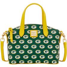 dooney bourke nfl green bay packers ruby bag