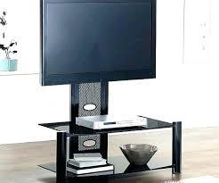 3 shelf glass tv stand collection open matte black promounts mount up to 60 3 shelf glass tv stand crystal black for kross