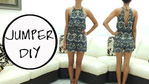 Women's Romper Pattern Interesting Romper DIY FREE PATTERN [Subtitled] YouTube