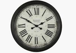 london clock company geo domed wall