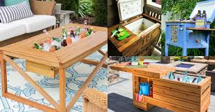 elegant table with ice chest 43 for your home design ideas with table with ice chest