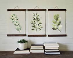wild herbs prints herbs print set botanical wall art canvas art print wall art home decor on wall art prints etsy with canvas art print etsy