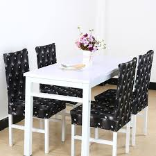 unique bargains removable stretch dining chair cover