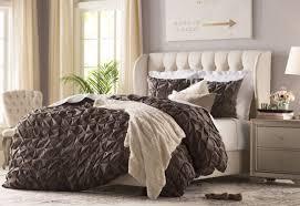 michaela upholstered wingback bed  reviews  joss  main