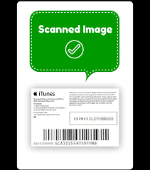 itunes gift card scanned image delivery