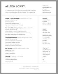 Clean resume template to get ideas how to make beauteous resume 19