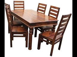 teak wood table. Teak Wood Dining Tables Product Demo @ Fab Home Koramangala, Bangalore | ShoppingAdviser - YouTube Table N