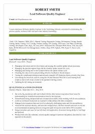 Example Test Cases For Manual Testing Pdf Software Quality Engineer Resume Samples Qwikresume