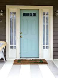 Door paint colours