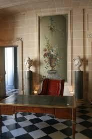 (Muse Nissim de Camondo, Vestibule. Bureau de Riesener, vers 1780)