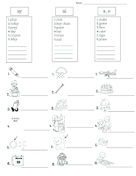 These free worksheets are printable and designed to accommodate any lesson plan for reading that includes. Long Vowel Sound Worksheets Ai Ay Sumnermuseumdc Org