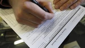 gun background check form. Unique Form A Man Fills Out A Federal Background Check Form At Good Guys Guns U0026 Range On For Gun Background Check Form