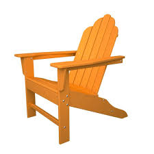 great modern outdoor furniture 15 home. Long Island Tangerine Plastic Patio Adirondack Chair Great Modern Outdoor Furniture 15 Home