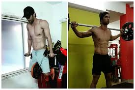 sushant singh rajput workout and t