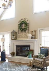 Amazing transformation of a dated red brick and oak wood surround fireplace.  I really like