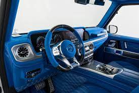 Then browse inventory or schedule a test drive. There Is Nothing More Blue Than This G63 Amg Interior Autoguide Com News