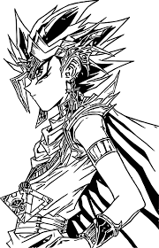 Small Picture Yu Gi Oh Look Coloring Page Wecoloringpage