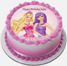 Easy Barbie Birthday Cake Ideas Birthdaycakeformomcf